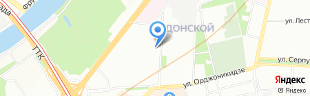 Смешарики на карте Москвы