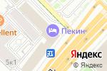 Схема проезда до компании Анфилада в Москве