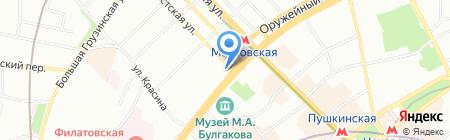АМИ ГРУП на карте Москвы