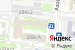 Схема проезда до компании МЕТКОМБАНК в Москве