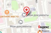 Схема проезда до компании Архитектурно-Проектный Центр в Москве