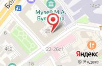 Схема проезда до компании ИнтерТрейд в Москве