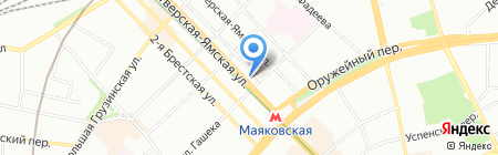 Атлантик Тревел на карте Москвы