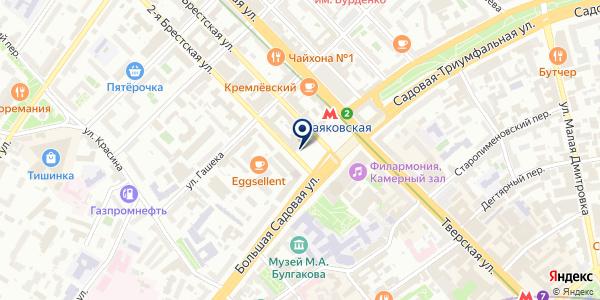 Евросеть на карте Москве