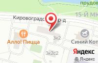 Схема проезда до компании Реал Тайм в Москве