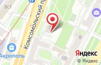 Схема проезда до компании Кондэкс в Москве