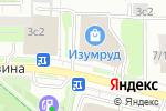 Схема проезда до компании Магазин верхней одежды в Москве