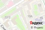 Схема проезда до компании Бюро семейных разводов в Москве