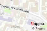 Схема проезда до компании Pressto Public Communications в Москве