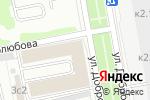 Схема проезда до компании Клондайк-Связь в Москве