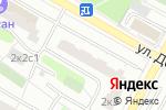 Схема проезда до компании 3чип-сервис в Москве