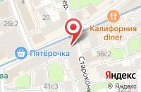 Схема проезда до компании Гермес-Сервис в Москве