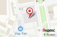 Схема проезда до компании Вариант в Москве