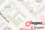 Схема проезда до компании Микенопа в Москве