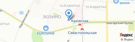 Атак на карте Москвы
