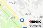 Схема проезда до компании Симфония света в Москве