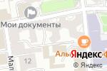 Схема проезда до компании Tapis Rouge в Москве