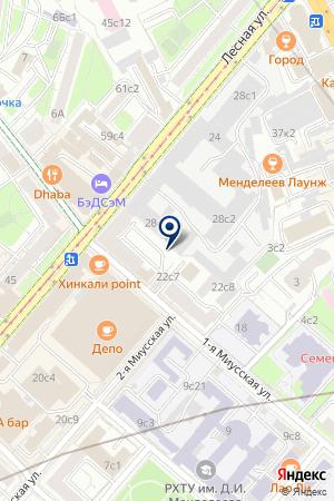 МАГАЗИН ИНСТРУМЕНТОВ ДОМОВОЙ на карте Москвы