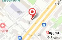Схема проезда до компании Профсервис в Москве