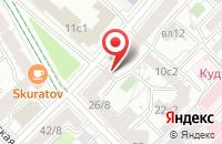Схема проезда до компании Изборец в Москве