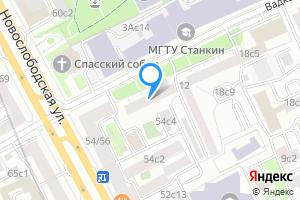 Двухкомнатная квартира в Москве Вадковский пер., 4\u002F6