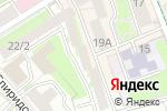 Схема проезда до компании Адвокатская палата города Москвы в Москве