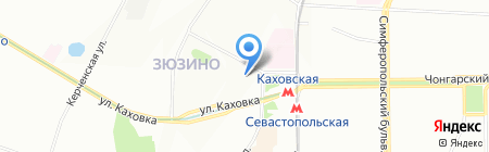 ПЕНОБЛОКИ на карте Москвы