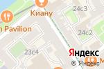 Схема проезда до компании Малая Бронная 25 в Москве