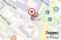 Схема проезда до компании Альфа-Центр в Москве
