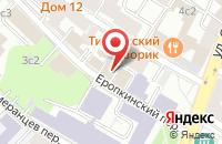 Схема проезда до компании Техногрупп в Москве