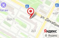 Схема проезда до компании Академия Профессий в Москве