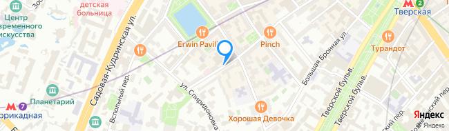 Спиридоньевский переулок