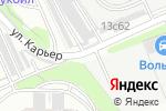 Схема проезда до компании Флорианна в Москве