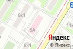 Схема проезда до компании Городская поликлиника №22 в Москве