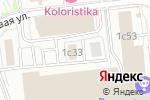 Схема проезда до компании Ромашка Партнер в Москве