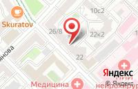 Схема проезда до компании Прогресс-90 в Москве