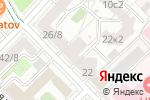 Схема проезда до компании КИНД в Москве