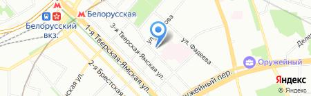 Простор на карте Москвы