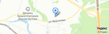 А1 на карте Москвы