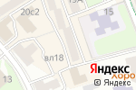 Схема проезда до компании ДЖЕЙНОВИ в Москве