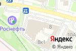 Схема проезда до компании КБ Русский элитарный банк в Москве