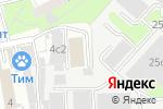 Схема проезда до компании Интер-Проект в Москве