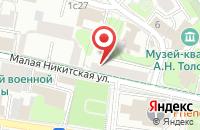 Схема проезда до компании Балия в Москве