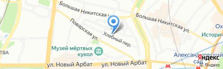 Москанелла на карте Москвы