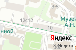 Схема проезда до компании Brow Bar Moscow в Москве