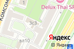 Схема проезда до компании Контек-Столица в Москве