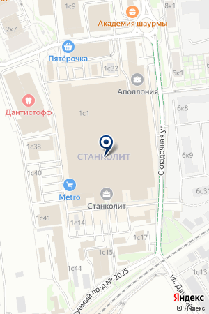 ОХОТНИЧИЙ КЛУБ ТОРГОВАЯ КОМПАНИЯ СЛАВЯНСКИЙ ТРОФЕЙ на карте Москвы