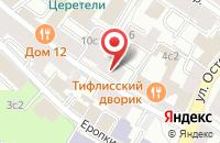 Схема проезда до компании Сувенир Промо в Москве