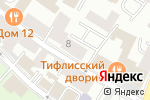 Схема проезда до компании ГЛАВПОСПРОМ в Москве