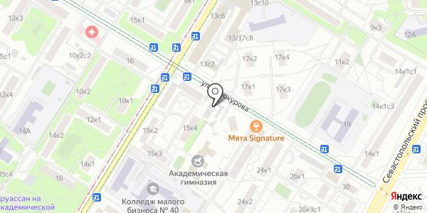 Прогресс. Схема проезда в Москве